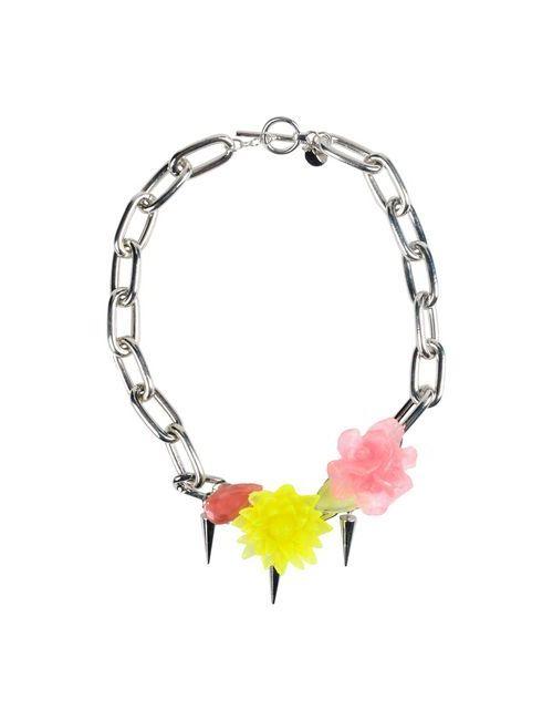 Pinko   Женское Серебристое Ожерелье