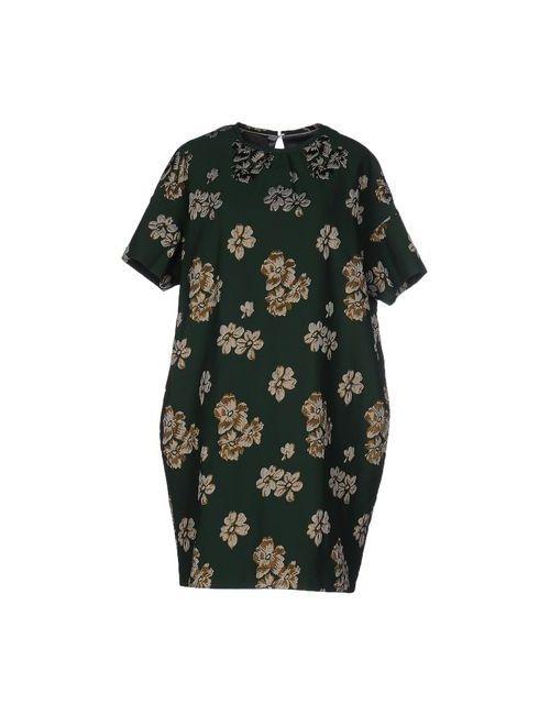 OBLÒ | Женское Зелёное Короткое Платье