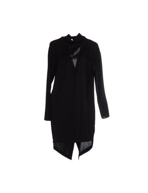 Imperial | Женское Чёрное Короткое Платье
