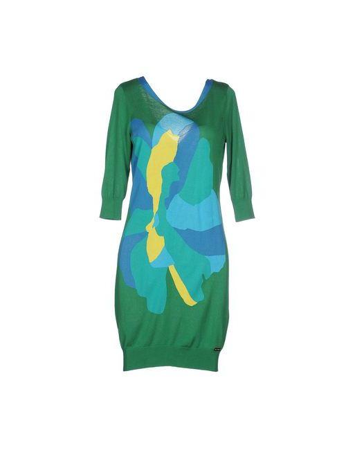 Who*S Who | Женское Зелёное Короткое Платье
