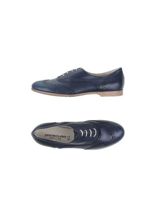 Oroscuro | Мужская Синяя Обувь На Шнурках
