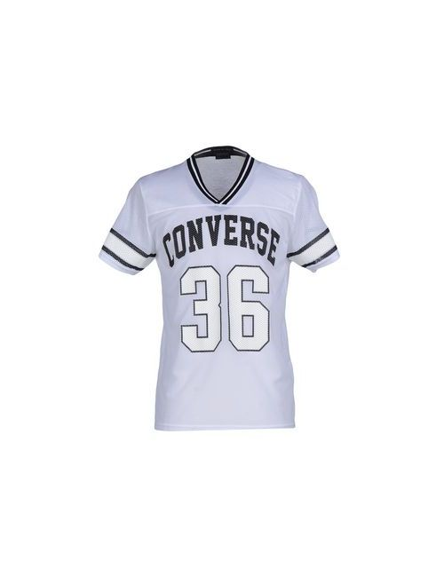 Converse All Star | Мужская Белая Футболка