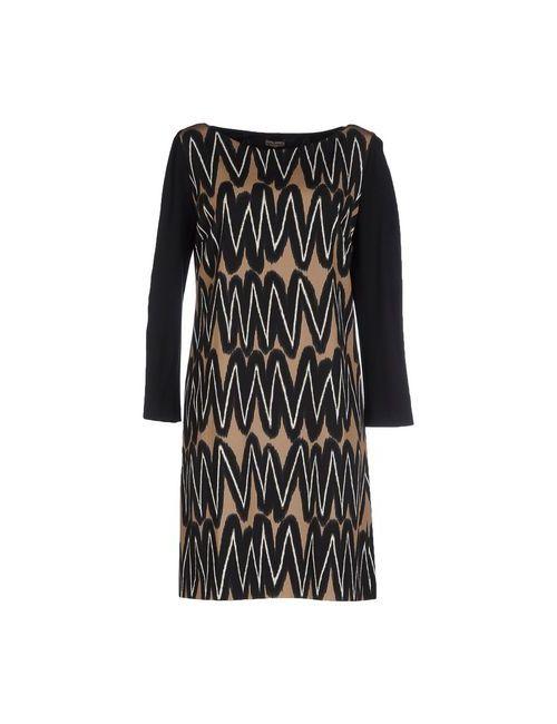 Maliparmi | Женское Чёрное Короткое Платье