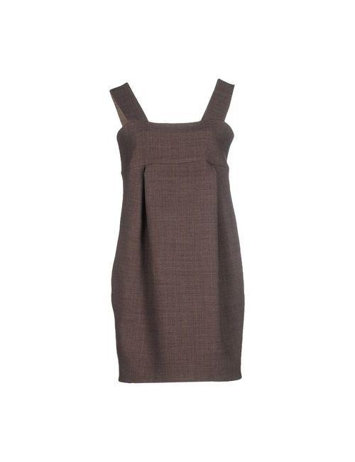 Vicolo | Женское Хаки Короткое Платье