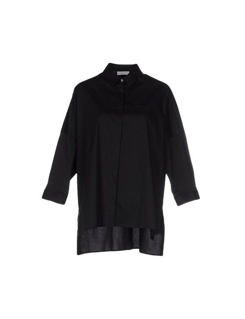 Zanetti 1965   Женская Черный Pубашка