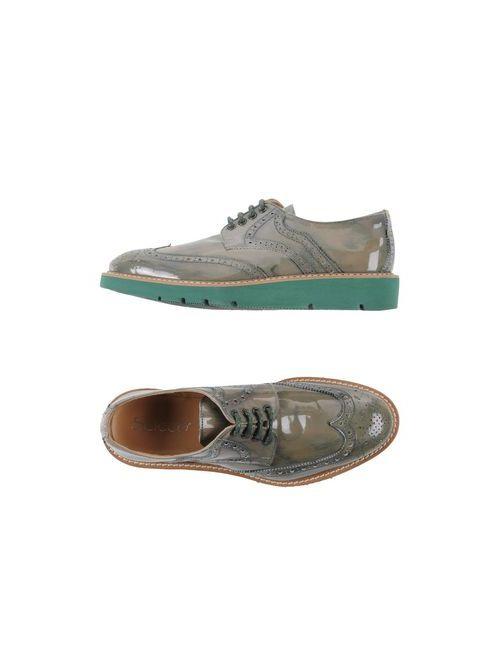 SCICCO | Мужская Зелёная Обувь На Шнурках