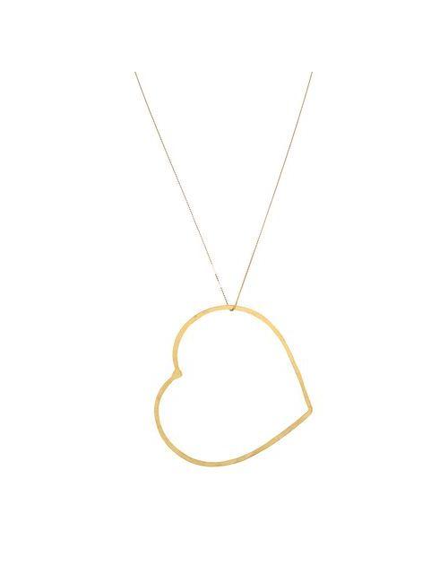 SEE ME | Женское Золотистое Ожерелье