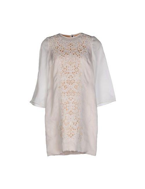 Dolce & Gabbana   Женское Белое Короткое Платье