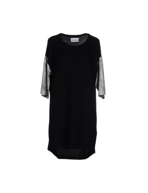 Brand Unique | Женское Чёрное Короткое Платье