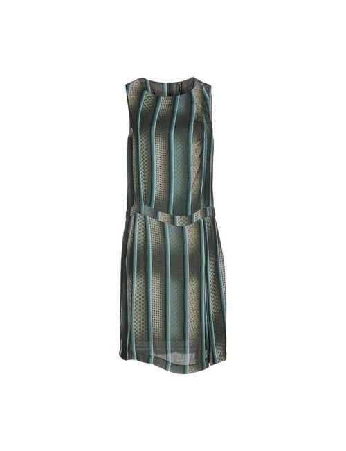Manila Grace   Женское Зелёное Платье До Колена