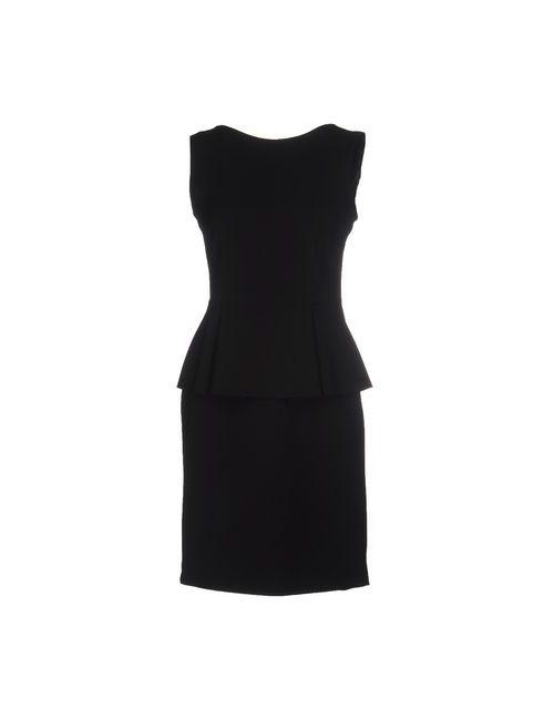Boutique De La Femme | Женское Чёрное Короткое Платье