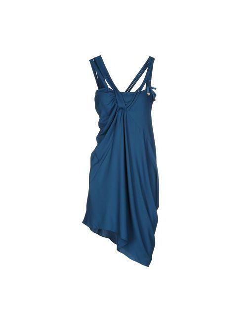 Liu •Jo | Женское Цвет Морской Волны Платье До Колена
