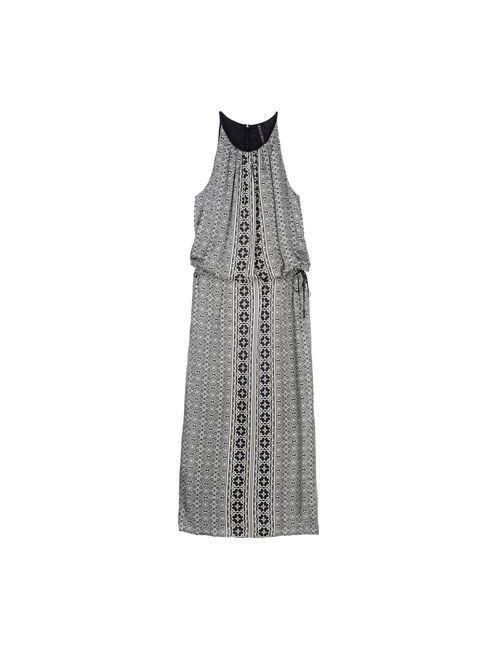 Manila Grace | Женское Чёрное Длинное Платье