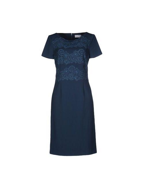 Giorgio Grati | Женское Цвет Морской Волны Платье До Колена