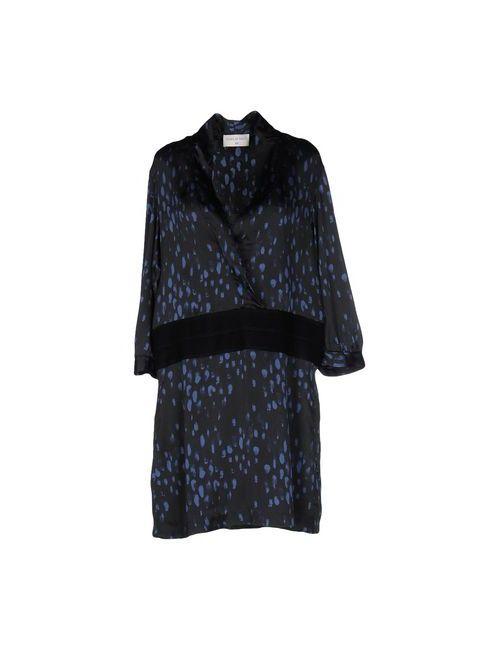 SONIA DE NISCO | Женское Синее Короткое Платье