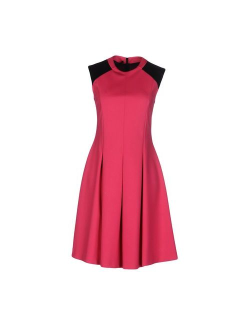 Blue Les Copains | Женское Фуксия Короткое Платье