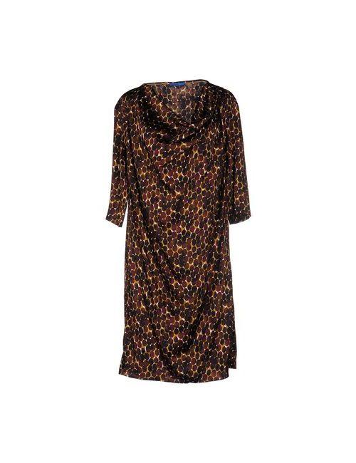 Joop! | Женское Коричневое Платье До Колена