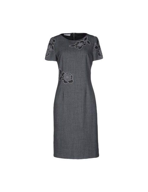 Giorgio Grati | Женское Серое Платье До Колена