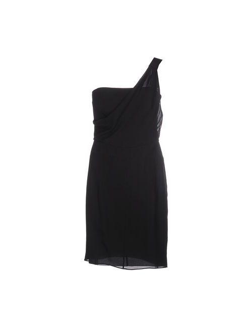 Emporio Armani | Женское Чёрное Короткое Платье