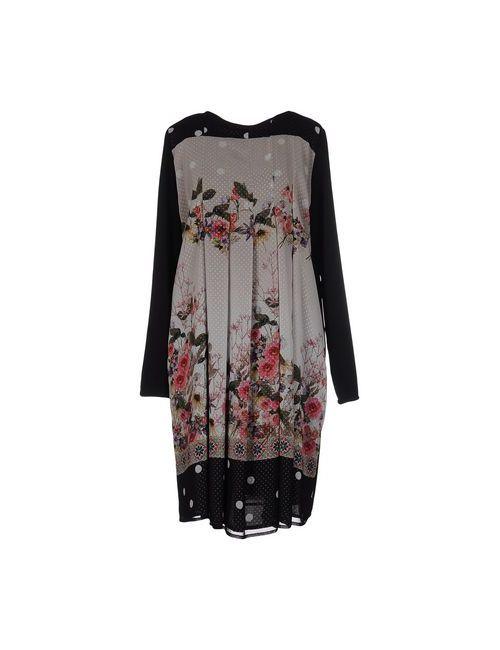 FRANCESCO COPPARONI | Женское Чёрное Короткое Платье