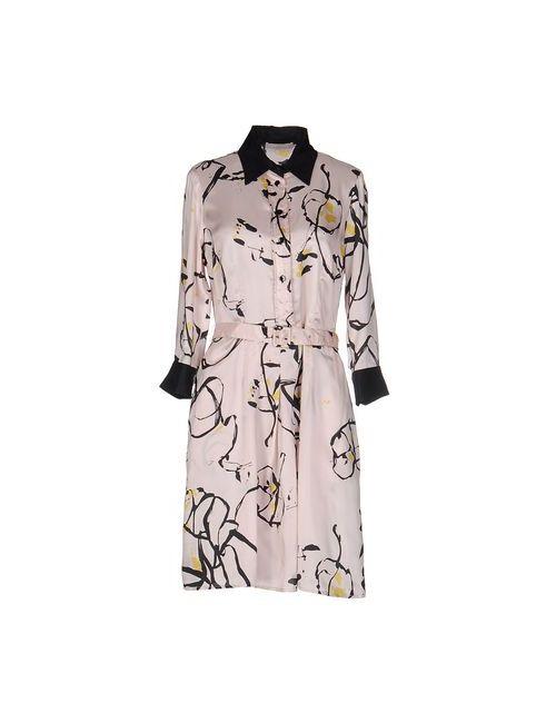 Stefanel | Женское Телесное Короткое Платье