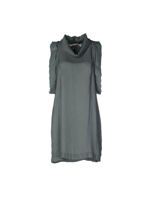 Devotion | Женское Зелёное Короткое Платье