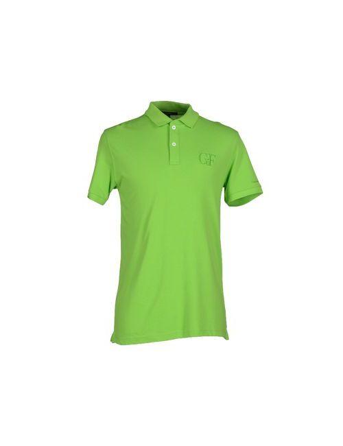 Gf Ferre' | Мужское Зелёное Поло