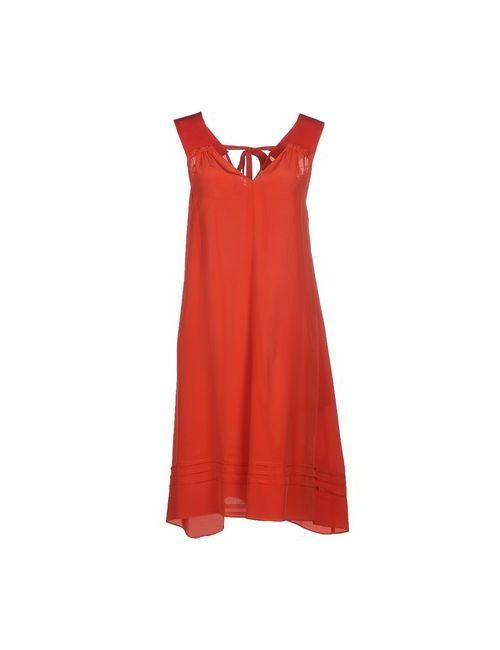 ...À_La_Fois... | Женское Розовое Короткое Платье