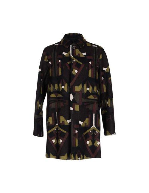 MSGM   Женское Зелёное Пальто