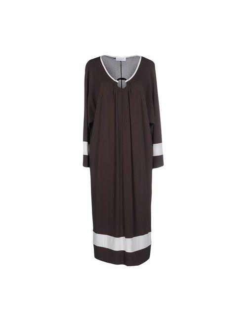 Calaluna | Женское Коричневое Платье До Колена