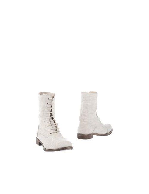 Sofie Bly | Женские Бежевые Полусапоги И Высокие Ботинки