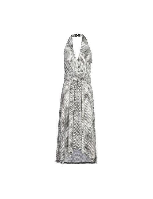 Michael Michael Kors   Женское Белое Платье До Колена