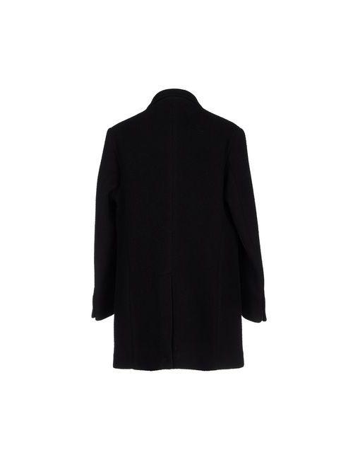 LUCA BERTELLI | Мужское Чёрное Легкое Пальто