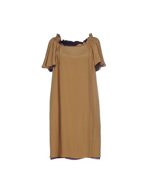 Maurizio Pecoraro | Женское Песочное Короткое Платье