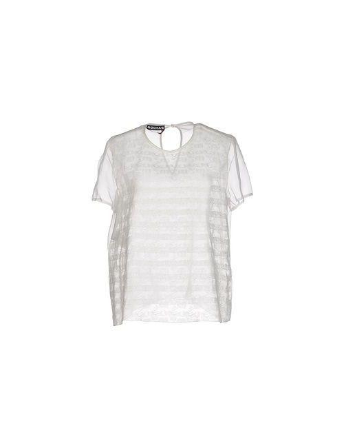 Rochas   Женская Белая Блузка
