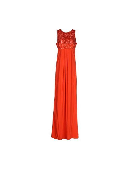 Blumarine | Женское Оранжевое Длинное Платье