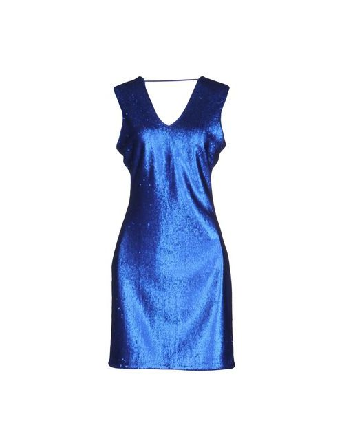 Silvian Heach   Женское Синее Короткое Платье