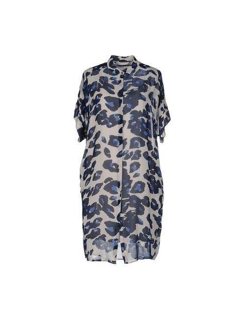 Custommade• | Женское Синее Короткое Платье