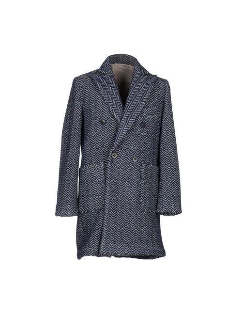 MC RITCHIE | Мужское Синее Пальто