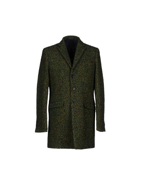 VAPOFORNO MILANO | Мужское Зелёное Пальто