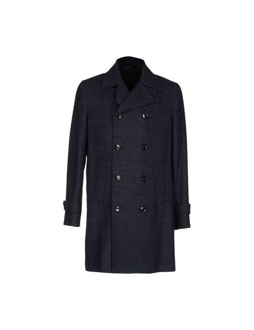 THIS IS YOUR COAT | Мужское Синее Пальто