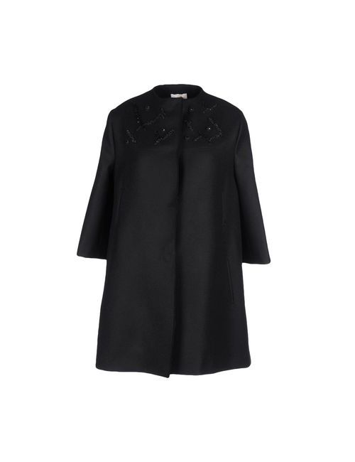 Chicca Lualdi Beequeen | Мужское Чёрное Пальто