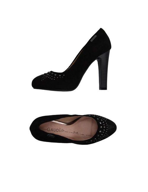 GAUDI' | Женские Чёрные Туфли