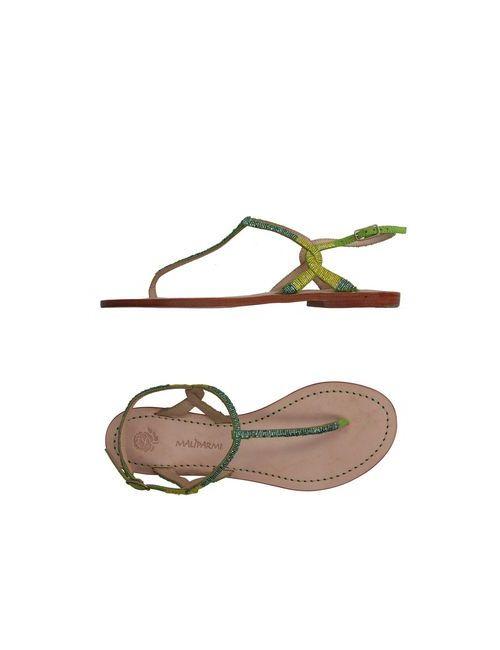 Maliparmi | Мужские Зелёные Вьетнамки