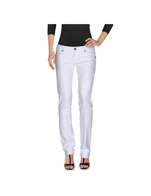 Met In Jeans | Женские Белые Джинсовые Брюки