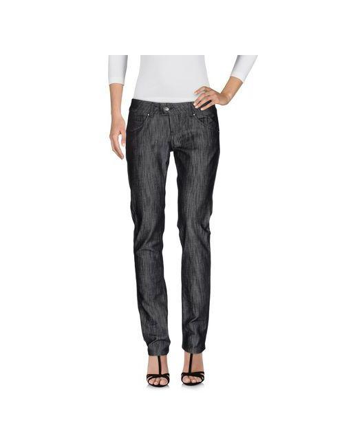 Met In Jeans | Женские Чёрные Джинсовые Брюки