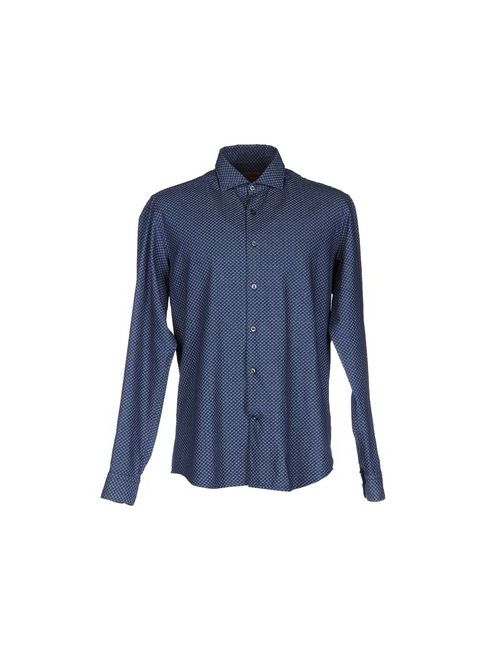 Gabardine | Мужская Синяя Джинсовая Рубашка