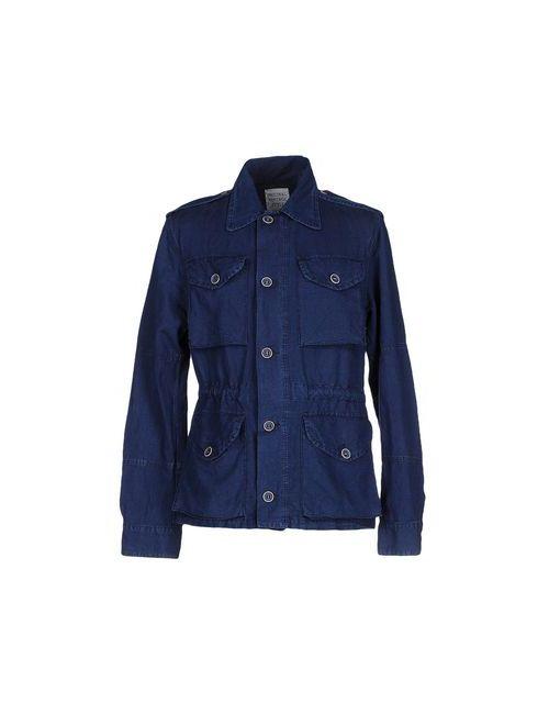 Original Vintage Style | Мужская Синяя Джинсовая Верхняя Одежда
