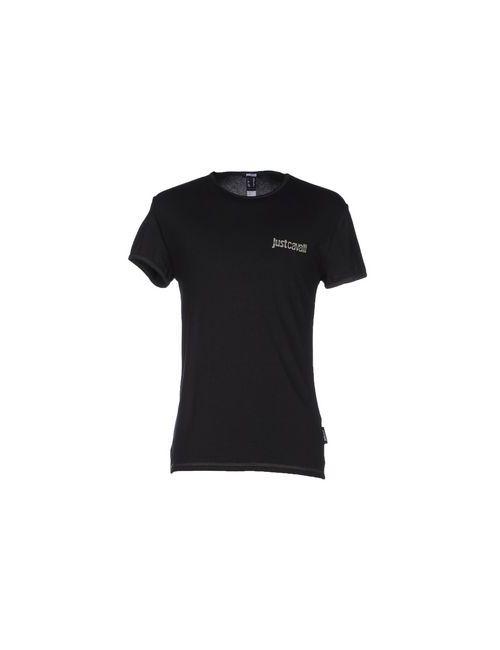 Just Cavalli Beachwear | Женская Чёрная Футболка