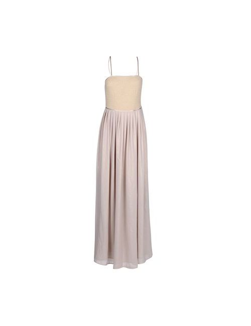 Etro | Женское Бежевое Длинное Платье
